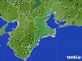 2016年09月18日の三重県のアメダス(降水量)