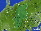 2016年09月19日の長野県のアメダス(降水量)