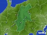 2016年09月21日の長野県のアメダス(降水量)