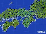 2016年09月21日の近畿地方のアメダス(日照時間)