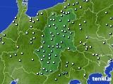 2016年09月22日の長野県のアメダス(降水量)
