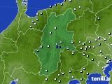 2016年09月23日の長野県のアメダス(降水量)