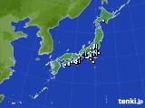 2016年09月24日のアメダス(降水量)