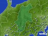 2016年09月24日の長野県のアメダス(降水量)