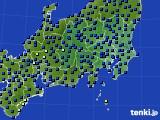 関東・甲信地方のアメダス実況(日照時間)(2016年09月28日)