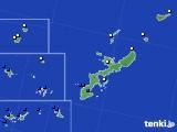 沖縄県のアメダス実況(風向・風速)(2016年09月29日)