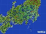 関東・甲信地方のアメダス実況(日照時間)(2016年09月30日)