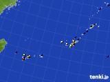 2016年10月15日の沖縄地方のアメダス(日照時間)