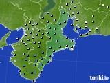 2016年11月08日の三重県のアメダス(降水量)