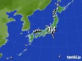 アメダス実況(降水量)(2016年11月24日)