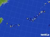 2016年11月28日の沖縄地方のアメダス(風向・風速)