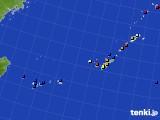 2016年12月02日の沖縄地方のアメダス(日照時間)