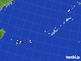 2016年12月04日の沖縄地方のアメダス(降水量)