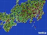 東海地方のアメダス実況(日照時間)(2016年12月06日)
