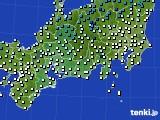 東海地方のアメダス実況(気温)(2016年12月06日)