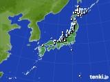 アメダス実況(降水量)(2016年12月09日)