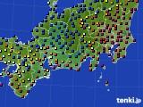 東海地方のアメダス実況(日照時間)(2016年12月09日)