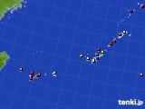2016年12月10日の沖縄地方のアメダス(日照時間)