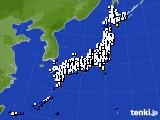 2016年12月13日のアメダス(風向・風速)