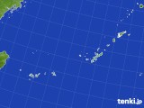 2016年12月25日の沖縄地方のアメダス(積雪深)
