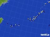 2016年12月25日の沖縄地方のアメダス(風向・風速)
