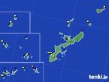 沖縄県のアメダス実況(風向・風速)(2016年12月27日)