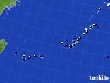 2016年12月30日の沖縄地方のアメダス(風向・風速)