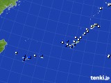 2017年01月01日の沖縄地方のアメダス(風向・風速)