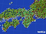 2017年01月02日の近畿地方のアメダス(日照時間)