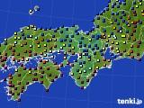 2017年01月04日の近畿地方のアメダス(日照時間)