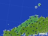2017年01月05日の島根県のアメダス(日照時間)