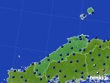 2017年01月07日の島根県のアメダス(日照時間)