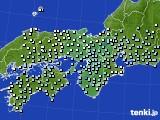 2017年01月08日の近畿地方のアメダス(降水量)