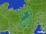 2017年01月08日の滋賀県のアメダス(気温)