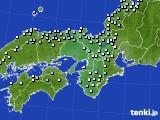 2017年01月09日の近畿地方のアメダス(降水量)