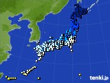 アメダス実況(気温)(2017年01月12日)