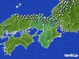 2017年01月14日の近畿地方のアメダス(降水量)