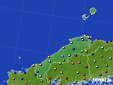 2017年01月16日の島根県のアメダス(日照時間)