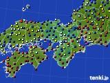 2017年01月17日の近畿地方のアメダス(日照時間)