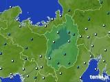 2017年01月17日の滋賀県のアメダス(気温)