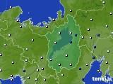 2017年01月19日の滋賀県のアメダス(風向・風速)