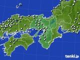 2017年01月20日の近畿地方のアメダス(降水量)