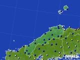 2017年01月20日の島根県のアメダス(日照時間)