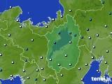 2017年01月20日の滋賀県のアメダス(気温)