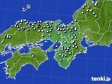 2017年01月23日の近畿地方のアメダス(降水量)