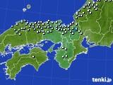 2017年01月24日の近畿地方のアメダス(降水量)