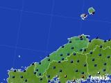 2017年01月27日の島根県のアメダス(日照時間)