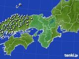 2017年01月29日の近畿地方のアメダス(降水量)