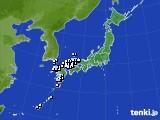 アメダス実況(降水量)(2017年01月29日)