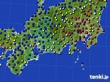 東海地方のアメダス実況(日照時間)(2017年02月01日)
